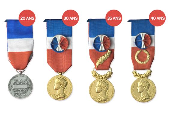 Medalla de honor de la obra 4 grados